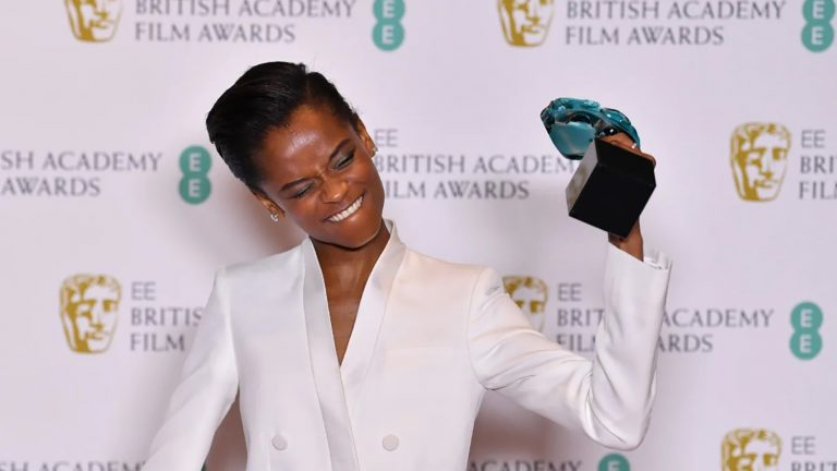 Letitia Wright wins BAFTA Award