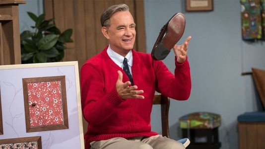 Tom Hanks as Mr. Rogers
