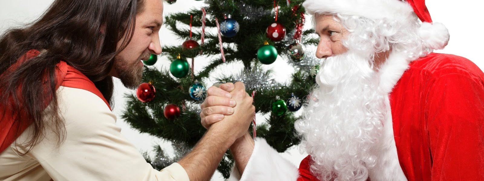 why jesus is better than santa claus - Jesus Santa